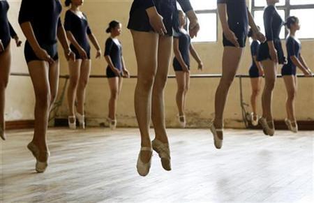 fogyókúrás balett