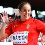 """""""Egy héten tizenkétszer edzek"""" Interjú Márton Anita súlylökővel"""